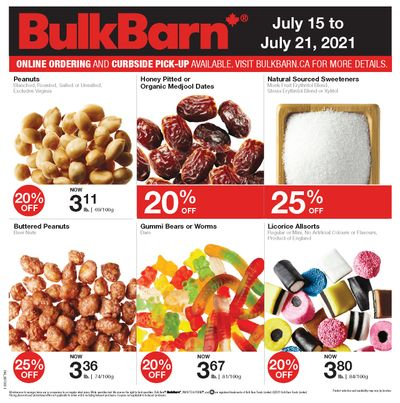 Bulk Barn Flyer July 15 to 21