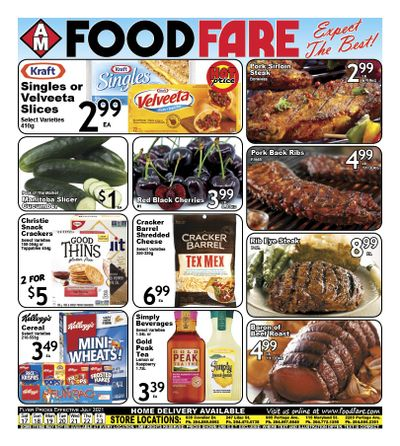 Food Fare Flyer July 17 to 23