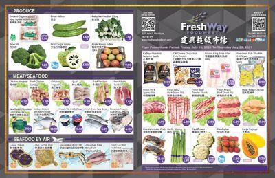 FreshWay Foodmart Flyer July 16 to 22