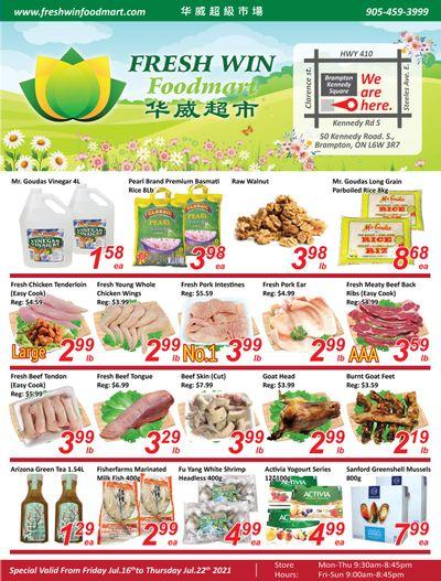 Fresh Win Foodmart Flyer July 16 to 22