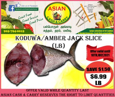 Asian Cash & Carry Flyer July 16 to 22