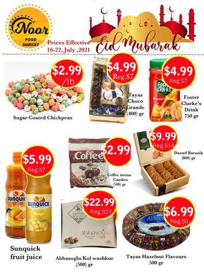 Noor Food Market Flyer July 16 to 22