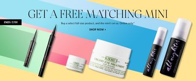Sephora Canada Deals: FREE Matching Mini With Purchase + More