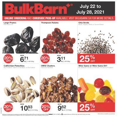 Bulk Barn Flyer July 22 to 28