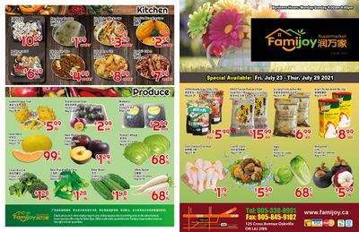 Famijoy Supermarket Flyer July 23 to 29