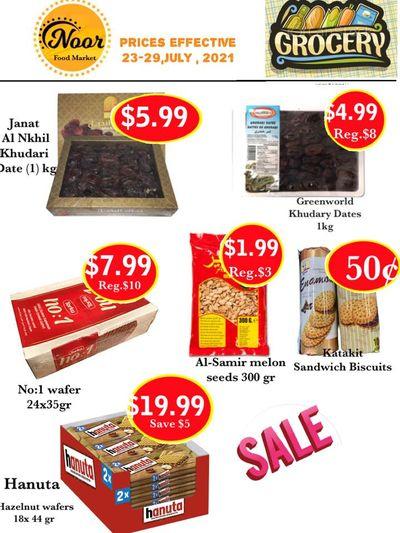 Noor Food Market Flyer July 23 to 29