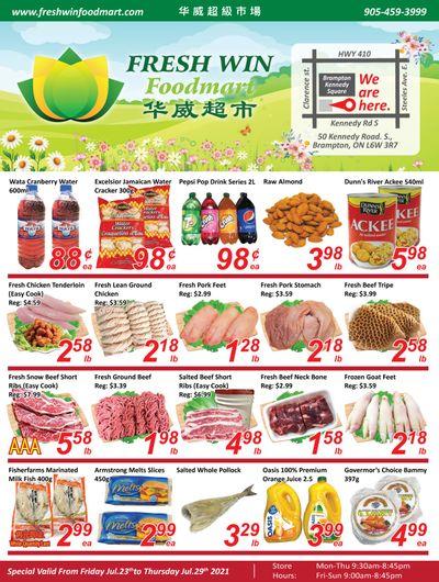 Fresh Win Foodmart Flyer July 23 to 29