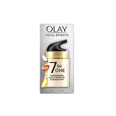 """Olay Total Effects CC Cream Daily Moisturizer + Touch of Foundation, 50 mL """"packaging may vary"""" $17.98 (Reg $25.99)"""