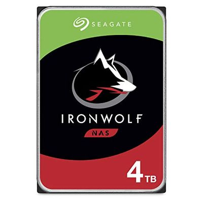 Seagate IronWolf 4TB NAS Internal Hard Drive HDD – CMR 3.5 Inch SATA 6Gb/s 5900 RPM 64MB Cache for RAID Network Attached Storage – Frustration Free Packaging (ST4000VN008) $114.99 (Reg $129.99)