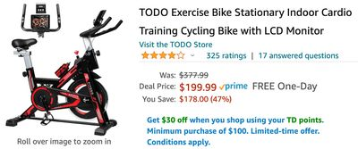 Amazon Canada Deals: Save 47% on Exercise Bike + 30% on Headphones + More Offers