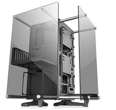 Thermaltake Core P90 Tempered Glass Black ATX Mid Tower Open Frame 2-Sided Glass Viewing, Tt LCS Certified Gaming Computer Case Chassis, CA-1J8-00M1WN-00 $151.99 (Reg $249.42)