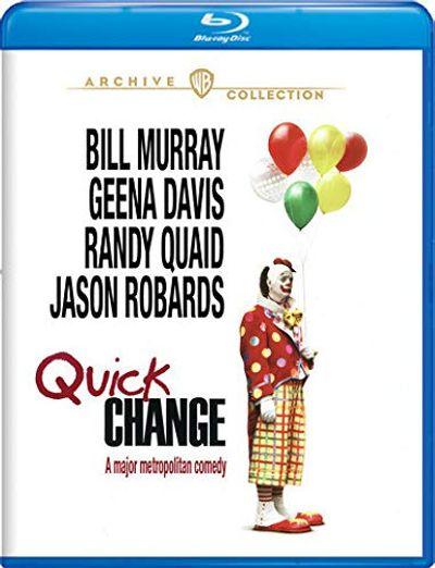 Quick Change [Blu-ray] $21.02 (Reg $33.74)