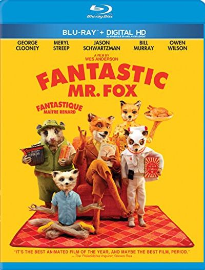 Fantastic Mr Fox (Bilingual) [Blu-ray + Digital Copy] $7.99 (Reg $14.99)