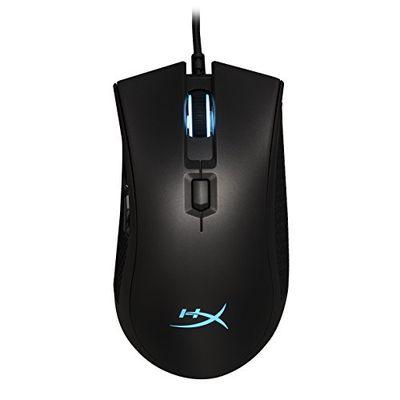 HyperX Pulsefire FPS Pro - RGB Gaming Mouse, Software Controlled RGB Light Effects & Macro Customization, Pixart 3389 Sensor up to 16,000DPI, 6 Programmable Buttons, Mouse Weight 95g (HX-MC003B) $29.99 (Reg $64.99)