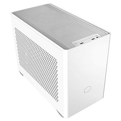 Cooler Master NR200 White SFF Small Form Factor Mini-ITX Case with Vented Panel, Triple-Slot GPU, Tool-Free and 360 Degree Accessibility, Without PCI Riser $94.99 (Reg $100.50)