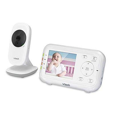 VTech VM3252 Digital Audio/Video Baby Monitor with Temperature Sensor, 1 Count, White $71 (Reg $101.20)