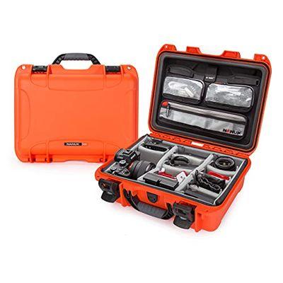 Nanuk 920 Waterproof Hard Case with Lid Organizer and Padded Divider - Orange $186.49 (Reg $234.77)