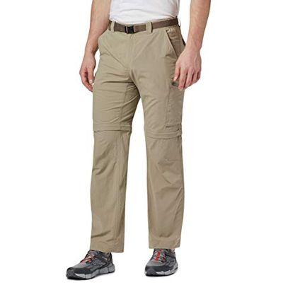 Columbia Men's Silver Ridge Convertible Pant, Breathable, UPF 50 Sun Protection, Tusk, 38x28 $54.97 (Reg $84.99)