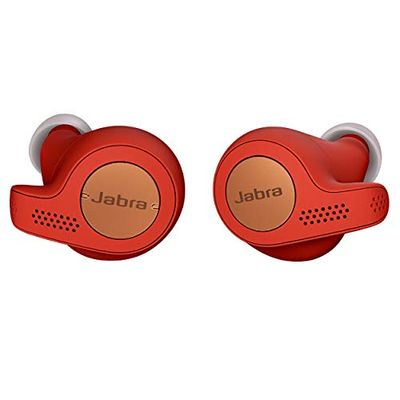 Jabra Elite Active 65t Earbuds – True Wireless Earbuds with Charging Case, Copper Red – Bluetooth Earbuds with a Secure Fit and Superior Sound, Long Battery Life and More $89.99 (Reg $109.99)
