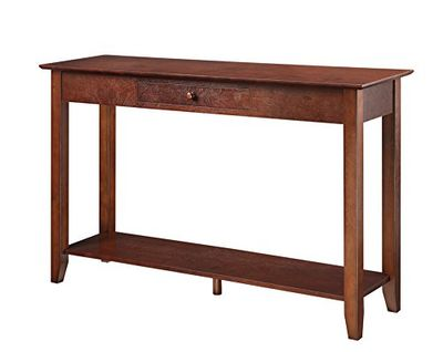 Convenience Concepts 7104099-ES American Heritage Console Table with Drawer and Shelf, Espresso $133.07 (Reg $274.99)