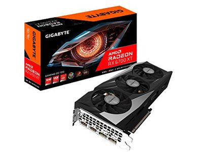 Radeon RX 6700 XT Gaming OC 12G Graphics Card, WINDFORCE 3X Cooling System, 12GB 192-bit GDDR6, GV-R67XTGAMING OC-12GD Video Card $1008.98 (Reg $1107.99)