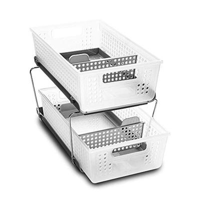 madesmart Two-Tier Organizer with Dividers $27.59 (Reg $45.61)