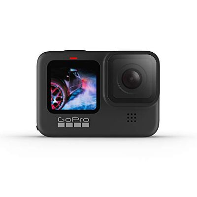 GoPro HERO9 Black - Waterproof Action Camera with Front LCD and Touch Rear Screens, 5K Ultra HD Video, 20MP Photos, 1080p Live Streaming, Webcam, Stabilization $499.99 (Reg $529.99)