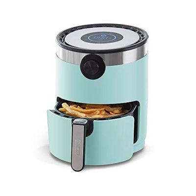 Dash DMAF360GBAQ02 Aircrisp Pro Air Fryer + Oven Cooker with Digital Display + 8 Presets, Temperature Control, Non Stick Fry Basket, Recipe Guide + Auto Shut Off Feature, 3qt, Aqua $114.4 (Reg $140.40)