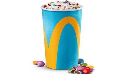 Slam Dunk Cookie McFlurry! at McDonald's Canada