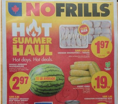 Ontario Flyer Sneak Peeks July 28th – August 4th: No Frills & Food Basics