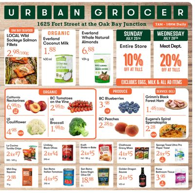 Urban Grocer Flyer July 23 to 29