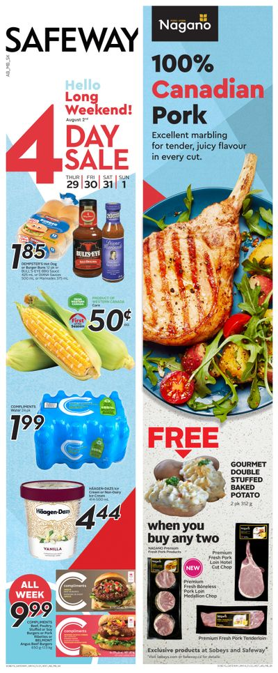 Sobeys/Safeway (SK & MB) Flyer July 29 to August 4