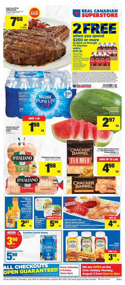 Real Canadian Superstore (ON) Flyer July 29 to August 4