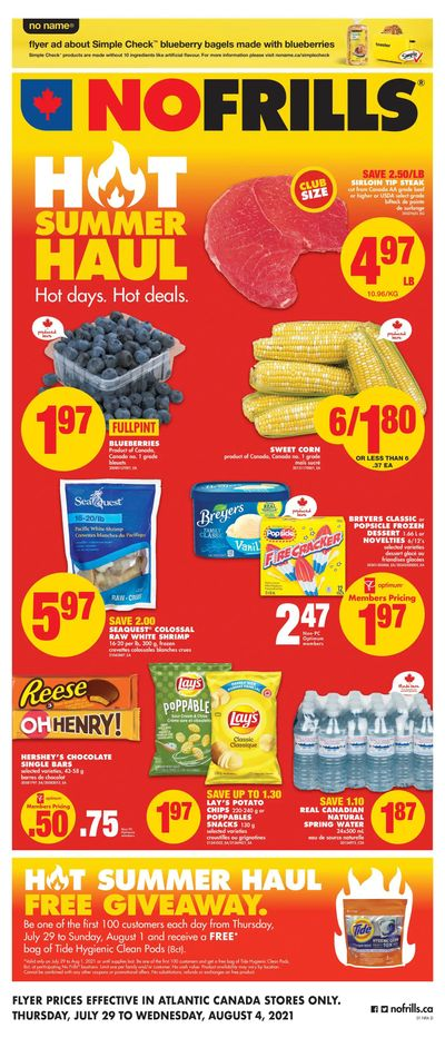 No Frills (Atlantic) Flyer July 29 to August 4