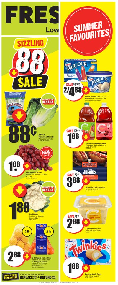 FreshCo (ON) Flyer July 29 to August 4
