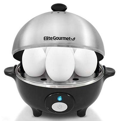 Elite Cuisine EGC-508 Maxi-Matic Egg Cooker & Egg Poacher W/ Stainless Steel Tray, Black $25.3 (Reg $27.21)