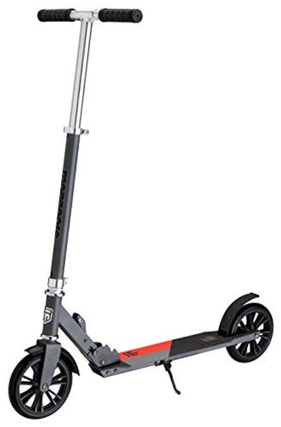 Mongoose Trace 180 Foldable Kick Scooter, Adjustable Height, Grey/Red $74.5 (Reg $94.03)