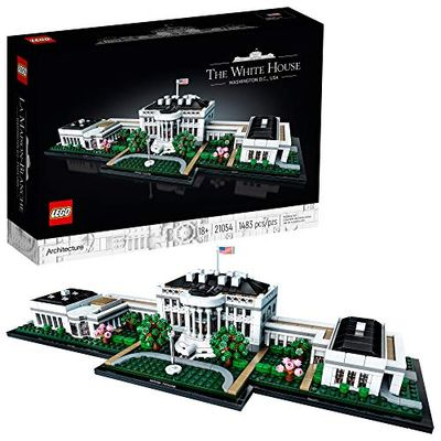 LEGO Architecture Collection: The White House 21054 Model Building Kit, Creative Building Set for Adults, A Revitalizing DIY Project and Great Gift for Any Hobbyists, New 2020 (1,483 Pieces) $138.32 (Reg $149.99)