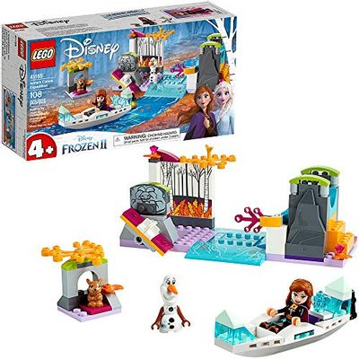 LEGO Disney Frozen II Anna's Canoe Expedition 41165 Frozen Adventure Building Kit (108 Pieces) $20 (Reg $24.99)