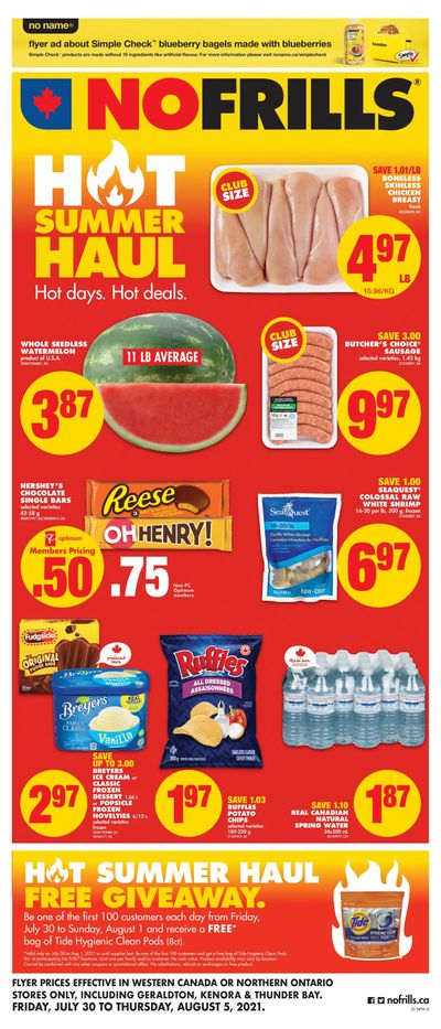 No Frills (West) Flyer July 30 to August 5