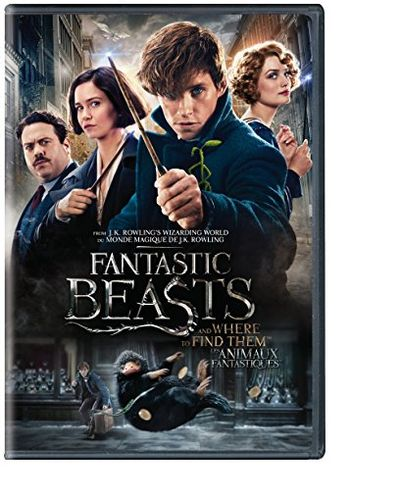 Fantastic Beasts and Where To Find Them (Bilingual) [2-Disc DVD] $6.99 (Reg $12.00)