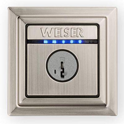 Weiser Kevo Contemporary Electronic Smart Lock, Satin Nickel $188.5 (Reg $279.00)