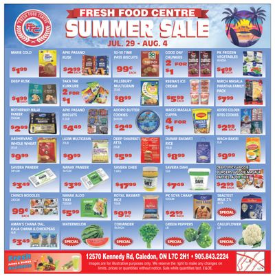 Fresh Food Centre Flyer July 29 to August 4