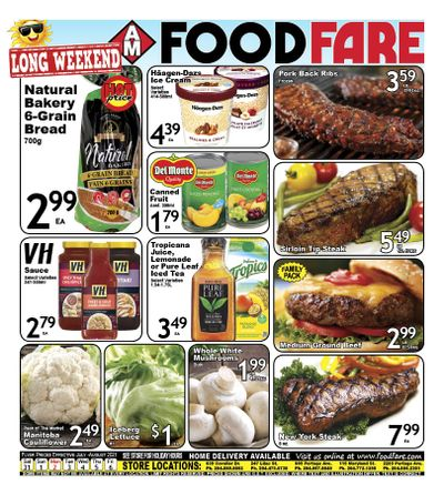 Food Fare Flyer July 31 to August 6