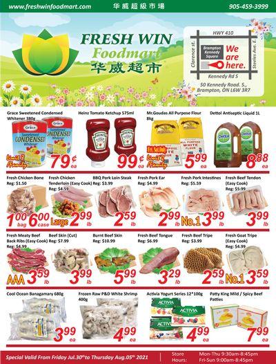 Fresh Win Foodmart Flyer July 30 to August 5