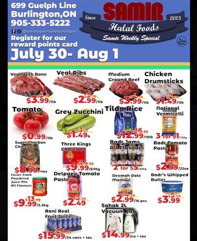 Samir Supermarket Flyer July 30 to August 1