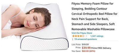 Amazon Canada Deals: Save 60% on Memory Foam Pillow + 43% on Sony Headphones + More Offers