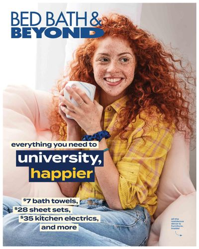 Bed Bath & Beyond Flyer August 1 to 15