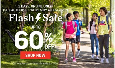 Sport Chek Canada Online Flash Sale: Save Up to 60% Off