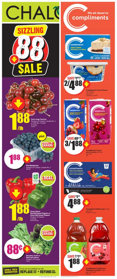 Chalo! FreshCo (ON) Flyer August 5 to 11
